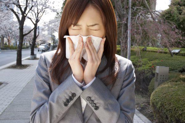 辛い花粉症
